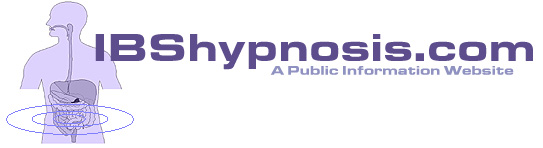 Health professionals using hypnosis treatment for IBS or